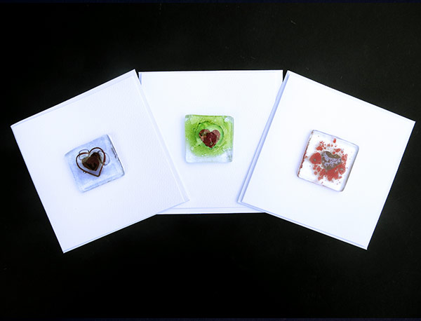 Cards-Assorted-Heart-designs-Back-lower-edge-cut-away-to-allow-card-to-stand