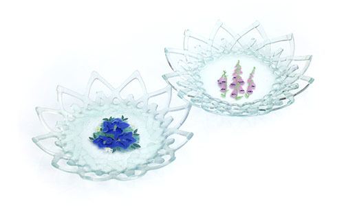 Delicate-work-Painted-lace-plates