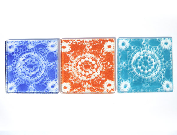Enamelled-lace-pattern-coasters