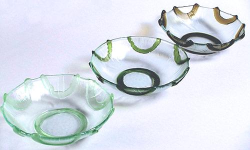 Flower-bowls-singles-asst-colours;-blue,-green,-brown,-turquoise,-black