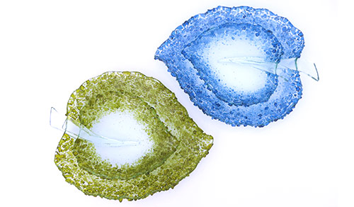 Frosted-Leaves-made-from-Blue-nun-and-red-wine-bottles.-Large