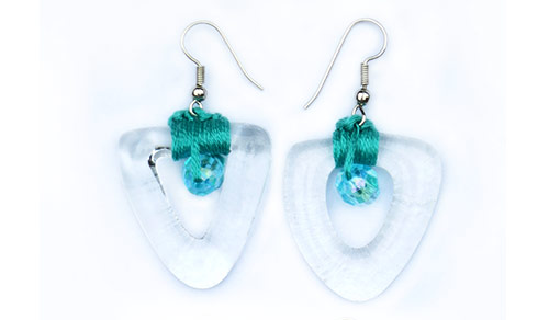 Jewellery-Earrings-made-from-perfume-bottles-and-wild-nepalese-hemp-or-embroidery-silk