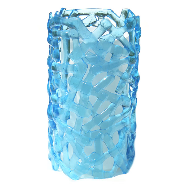 Lamp---Cylinder-made-from-Bombay-Sapphire-gin-bottles